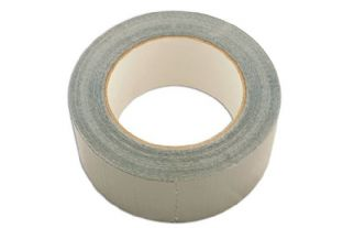 Connect 30178 Gaffer Tape/Cloth Silver Pack 2